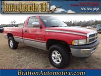 Exterior Color: red, Body: Pickup Truck, Engine: 5.9