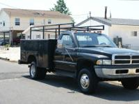 Dodge Ram Dually with Diesel and Utility body. Truck