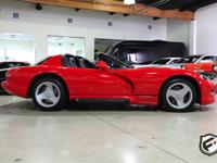 This is a beautiful 1 owner 1994 Dodge Viper RT/10 with