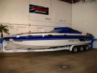 1994 28 Foot Eliminator Eagle, deep V haul, NEW Big