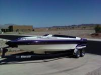 22.5' Eliminator Extreme 65 MPH+ New Battery New