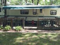 1994 Fleetwood Wilderness Travel Trailer and Site This