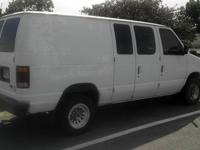 This is a 1994 Ford Econoline Van E-250. It has fairly