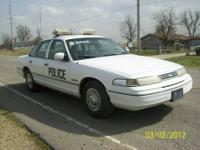 This is one nice Police Crown Victoria equipped with