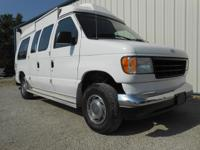 Exterior Color: white, Body: Cargo Van, Engine: 5.0L V8