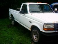 Truck has a good running 300 6 cylinder engine, 5 speed