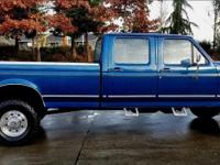 I have a 1994 ford F-350 XL1-ton crew cab 4X4 it is