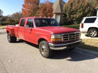1994 F350 XLT Crew Cab Dually. Very nice initial truck.