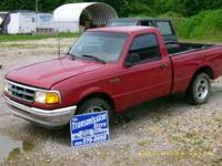 Parting out 1994 Ford Ranger with a 3.0L engine.