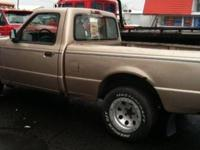1994 Ford Ranger XLT Truck. Truck interior is in