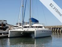 Vessel is a well built off-shore catamaran with twin