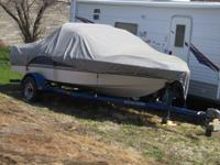 1994 four winds 17ft boat,inboard outboard, motor. dont