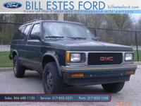Options Included: N/AYes, this 1994 GMC Jimmy is priced