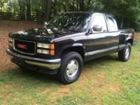 This is a 1994 GMC SLE Z71 4 wheel drive pickup