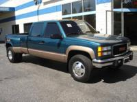 This GMC Sierra 3500 has a clean CA vehicle history