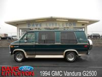Options Included: N/A94 GMC CONVERSION VAN!! ONE