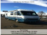 1994 Gulf Stream Sun Chaser w/Spartan Chassis ,