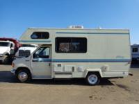 1994 GULF STREAM ULTRA 20' MOTORHOME CAMPER WITH 8