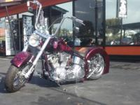 HERE'S YOUR CHANCE TO OWN THIS BEAUTIFUL CUSTOM HARLEY