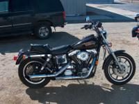 1994 HARLEY DAVIDSON DYNA GLIDE FXDS, LOADED WITH