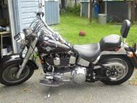 Near mint 94 Fatboy. 10K Miles S&S Carb Pipes, Ignition