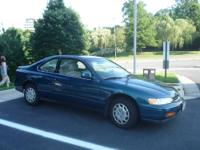 Selling my 1994 Honda Accord LX 2 door coupe, 5 speed
