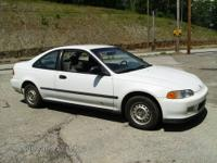 I'm selling my '94 Civic Coupe as I just bought a newer