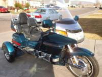 1994 HONDA GOLDWING GL1500 TRIKE Mileage: 66,347  New