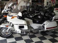 We are selling a 1994 1500 Honda Goldwing SE. It has