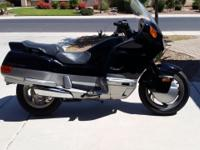 For sale is a rare 1994 Honda Pacific coast motorcycle.