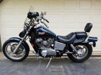 1994 Honda Shadow VT1100 in great shape with super low