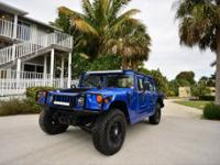 One of a Kind Custom Hummer Convertible in Maserati