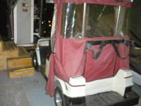 TAKING BEST CASH OFFERS. I OWNER GOLFCART, NEW 600.00