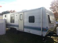 26 foot Camping trailer in good condition with vented