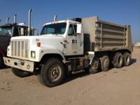 1994 International 2574 Dump Truck 6x4 Five Axels 350