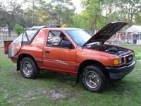 1994 ISUZU AMIGO. 2 Door With Removable Top. 2 Tire