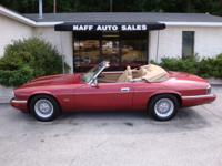 Options Included: N/A1994 Jaguar XJS Convertible - Low