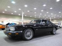 A very nice low mileage 1994 Jaguar XJS with a black