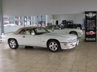 This 1994 Jaguar XJS V-12 has the upgraded 6.0 litre