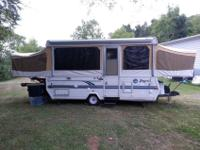 Spick-and-span camper, it consists of; 3 burner range 3