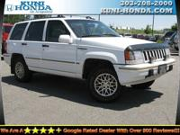Options Included: Four Wheel Drive, Tires - Front