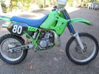 1994 Kawasaki KDX200 2 cycle water cooled engine that