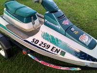 1994 Kawasaki TS650 runs good and has title. Comes with