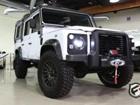 LAND ROVER DEFENDER 110 LIMITED POWERED BY LS3 CORVETTE