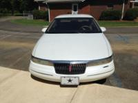 1994 Lincoln Mark VIII - White with 113,641 miles.