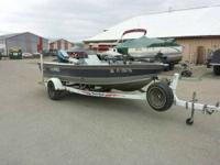 1994 Lund Pro Angler Deluxe W/ Yacht Club Trailer 1994