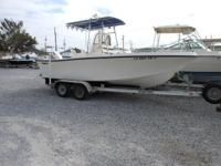Description Mako 20' with 175hp Johnson Must See!! Ask