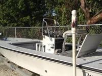 1994 Maverick Master Angler 18' with 2006 Yamaha 4
