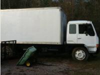 1994 Mitsubishi FK417 Box Truck. Engine in good running