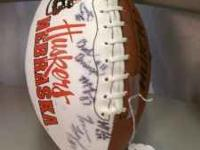 Nebraska Champions! Autograph Football. True